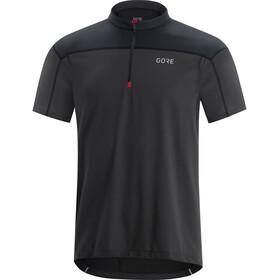 GORE WEAR C3 Koszulka rowerowa z zamkiem błyskawicznym Mężczyźni, szary/czarny